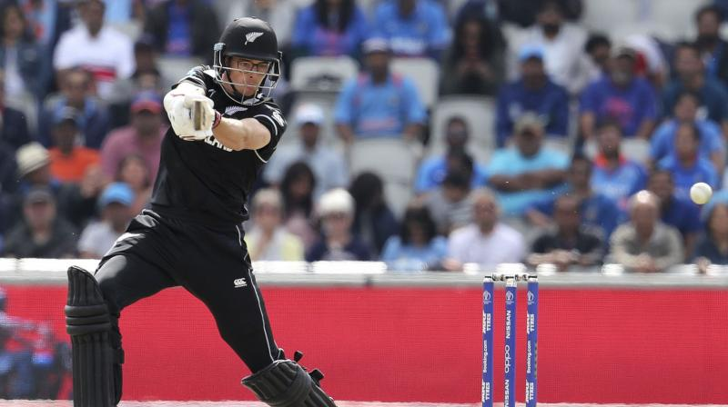Skipper Kane Williamson made 67 for New Zealand after they elected to bat first. (Photo: AP)