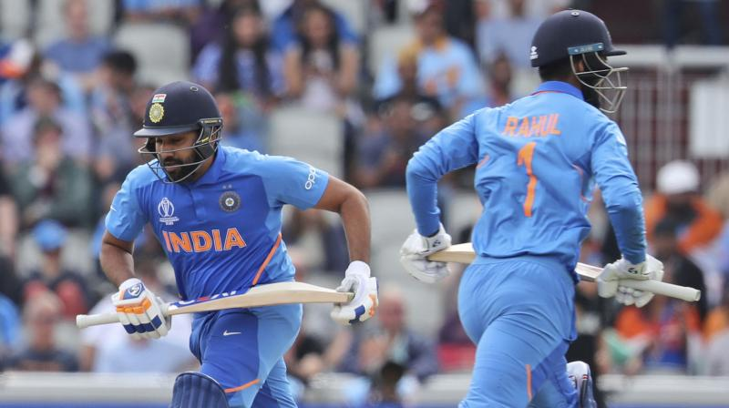 Losing India's top three batsmen was such a big hit to the team that even the brilliant performances that would come later from all-rounder Ravindra Jadeja and Mahendra Singh Dhoni wouldn't be enough to hit the required target. (Photo: AP)