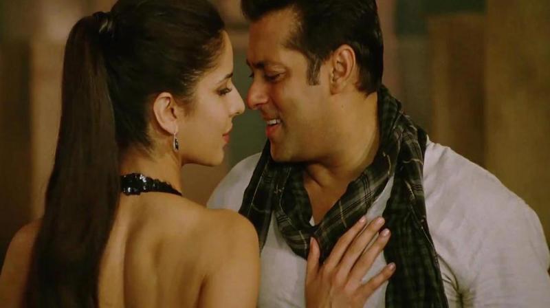 Salman and Katrina in the song 'Mashaallah' from 'Ek Tha Tiger'.