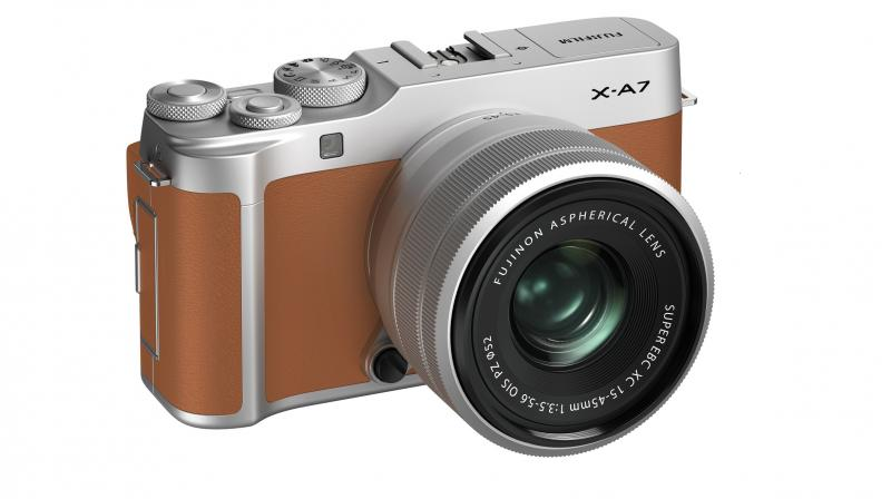 The new addition to the company's X Series range of compact and lightweight mirrorless digital cameras will be available in five colour variants.