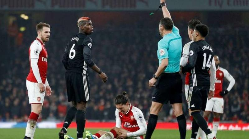 Manchester United midfielder Paul Pogba is set to return for their Premier League visit to Arsenal on New Year's Day after sitting out Saturday's 2-0 win over Burnley as a precaution, manager Ole Gunnar Solskjaer has said. (Photo:AFP)