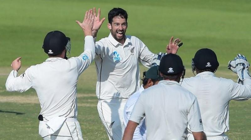 New Zealand have turned to Will Somerville for his experience of playing in Sydney as they look to avoid a whitewash in the third and final Test against Australia. (Photo:AFP)