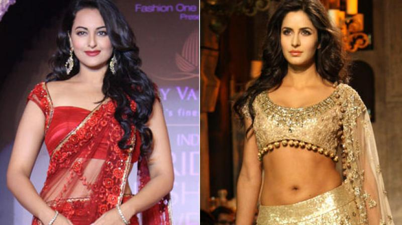 Sonakshi Sinha and Katrina Kaif are yet to work together in the same film.