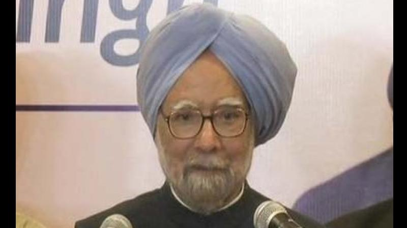 Manmohan Singh further claims that people should demand the release of documents related to demonetisation. (Photo: ANI)
