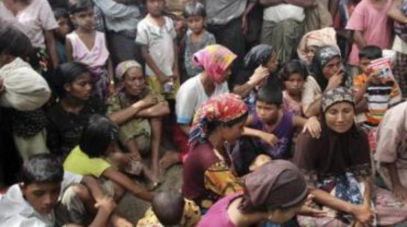 The figure is the highest estimated death toll yet of violence that erupted on August 25 and triggered a massive refugee crisis, with more than 6, 20,000 Rohingya fleeing Myanmar for Bangladesh in three months. (Representational image)