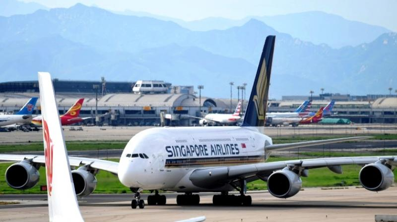 Singapore Airlines confirmed that a customer had found what seemed to be 'a foreign object in their meal'. (Photo: AFP)
