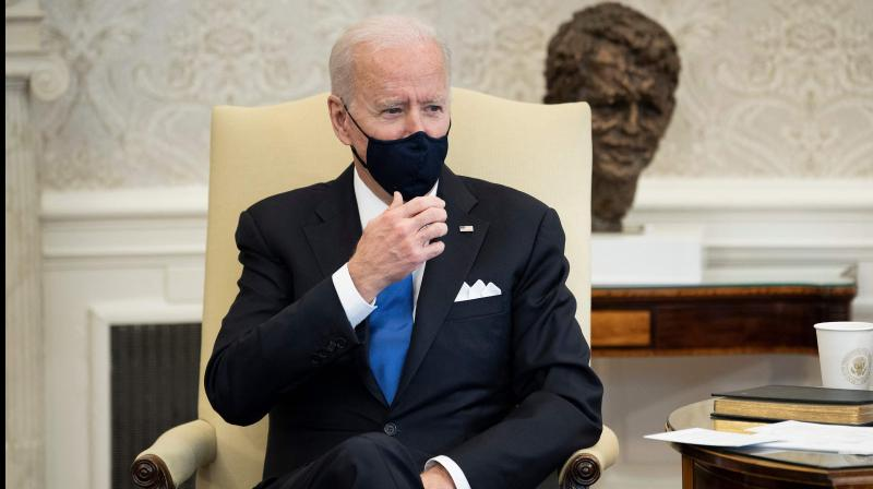 Mr Biden has also ordered a review of US arms sales to the Saudis and is reportedly considering a ban on all non-defensive purchases. (Brendan Smialowski / AFP)