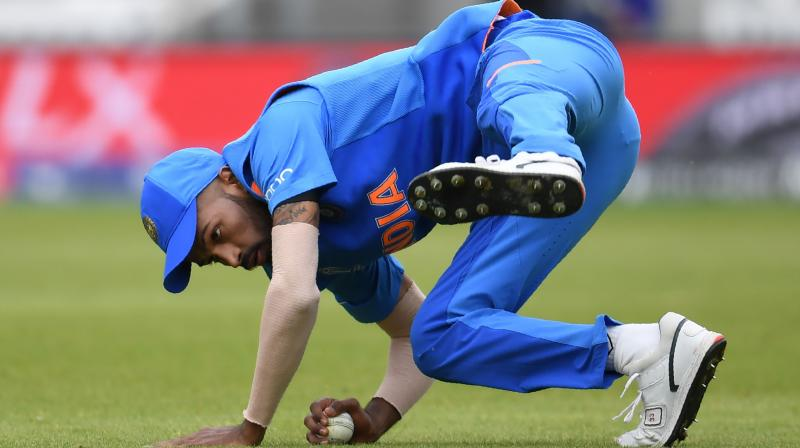 25-year-old Hardik Pandya said his sole objective is to win the World Cup. (Photo:AFP)