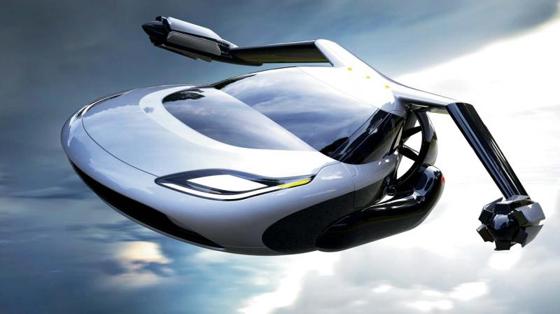 The Japanese government aims to start commercializing flying vehicles from around 2023.