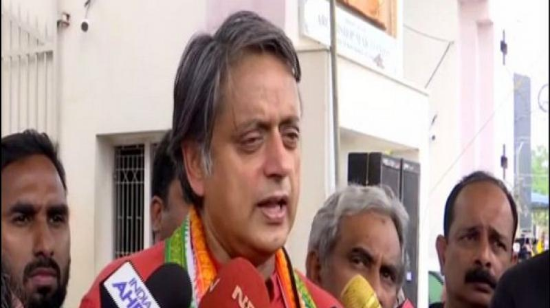 Endorsing Prime Minister Narendra Modi's suggestion of all Indians learning one word a day in any Indian language, Congress party Shashi Tharoor on Friday said the move is a 'departure from Hindi dominance' in the country. (Photo: File)