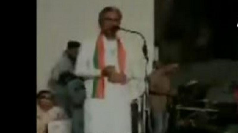 While addressing a public gathering, BJP candidate Dudaram Bishnoi said: