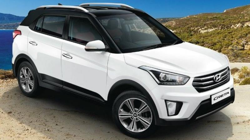 More than 10,000 units of the Creta were sold in March 2017.