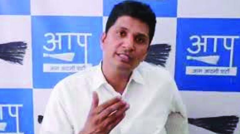 Aam Aadmi Party (AAP) spokesperson Saurabh Bhardwaj