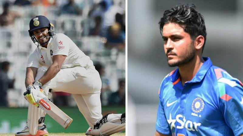 Karun Nair and Manish Pandey lead India 'A' teams will play a one-day tri-series involving Australia 'A' and South Africa 'A' followed by two four-day matches against the hosts. (Photo: AP/ PTI)