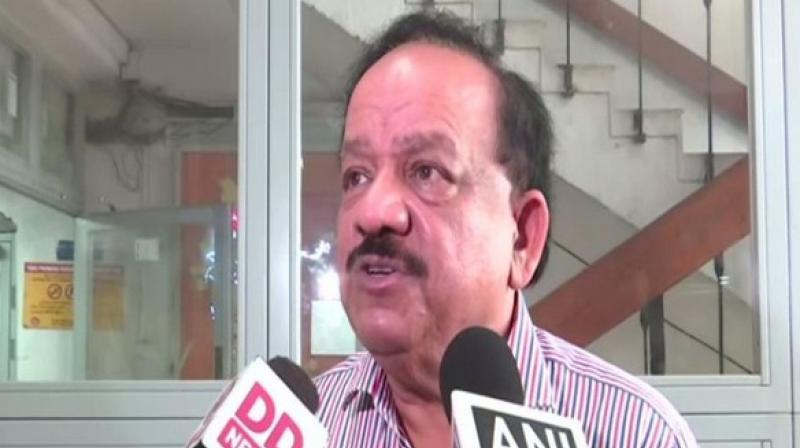 Hailing the National Medical Commission (NMC) Act 2019, Union Health Minister Harsh Vardhan on Thursday termed it as a huge and visionary reform which will provide wider access to people for quality healthcare. (Photo: File)