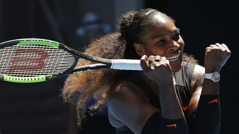 Serena Williams served up 10 aces and thumped 25 winners to register a 6-2, 6-3 triumph over Johanna Konta in a one-sided quarter-final. (Photo: AP)