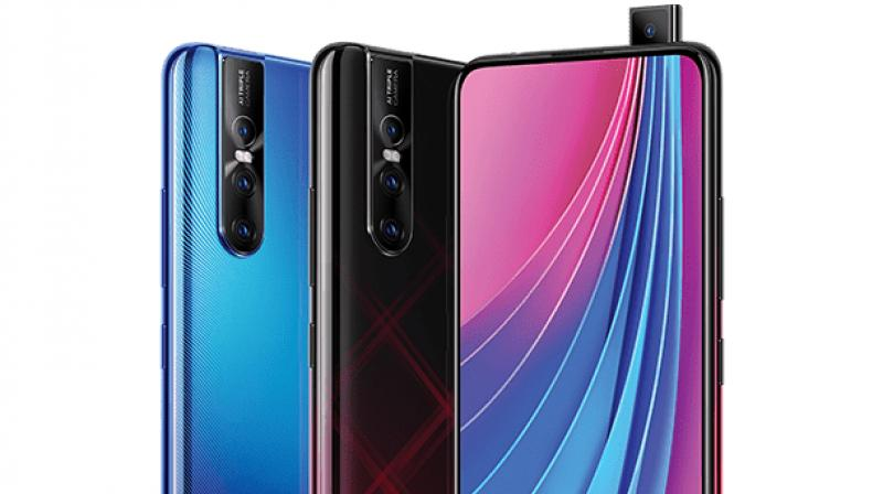 The display is a 19.5:9 ratio-based 6.39-inch Super AMOLED full HD+ panel that is almost edge-to-edge making this phone almost bezelless.