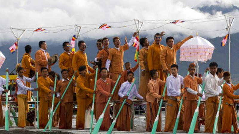 Pagoda festivals are common annual events similar to western cultural carnivals and fairs. (Photo: AP)