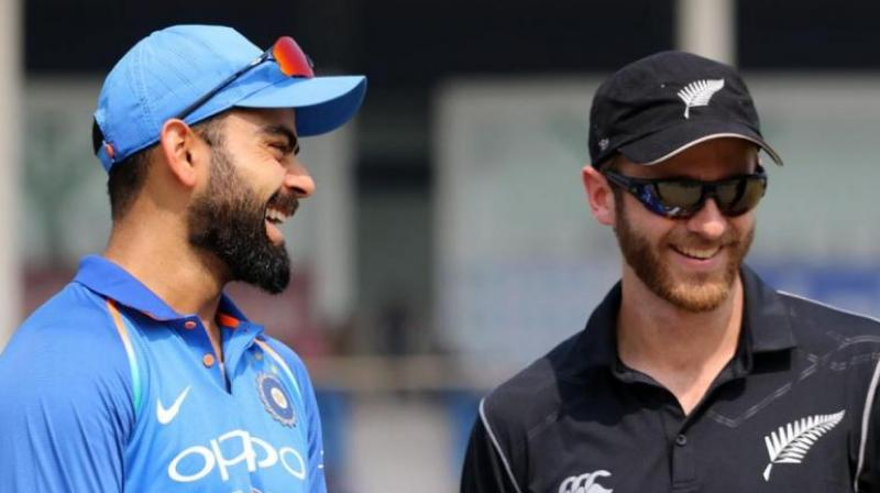 Kohli is glad they're seeing New Zealand again so soon in a real contest. (Photo: AFP)