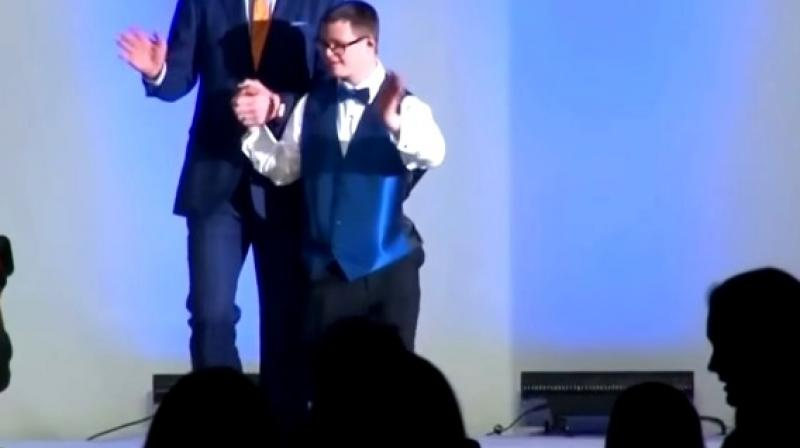 It was hosted by the Global Down Syndrome Foundation (Photo: YouTube)