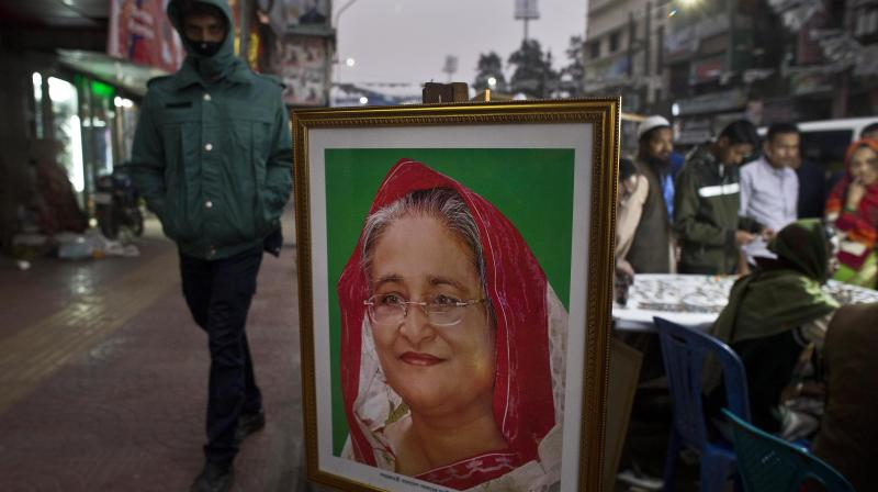 'People will cast their vote for Awami League to ensure the win of pro-Liberation forces,' Hasina said. (Photo: File   AP)