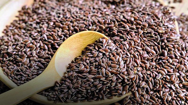 Flaxseeds can be used in grinded or powdered form as well.