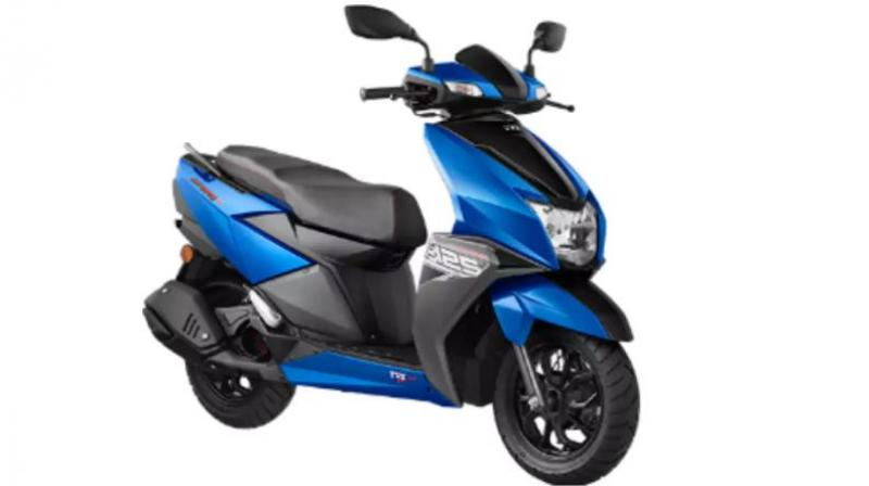 Chennai-based TVS Motor Company announced on Wednesday the launch of its scooter model TVS NTORQ 125 in Sri Lanka.