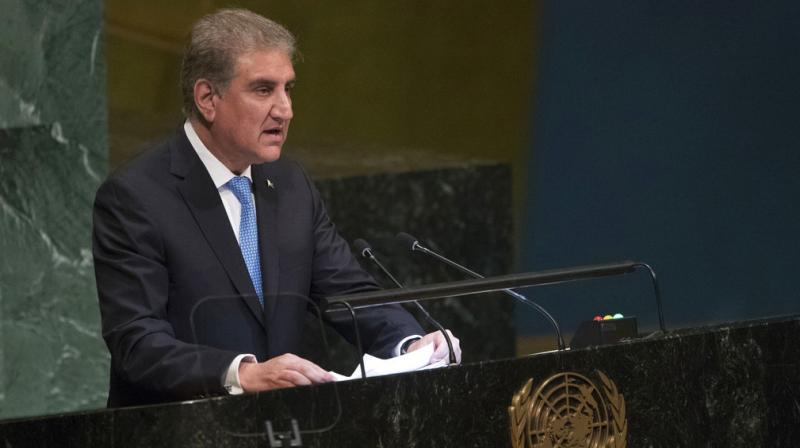 Pakistan Foreign Minister Shah Mahmood Qureshi has written a letter to the UN Secretary General and the President of the Security Council to reject India's decision to bifurcate Jammu and Kashmir into two union territories, the Foreign Office said on Monday. (Photo: File)