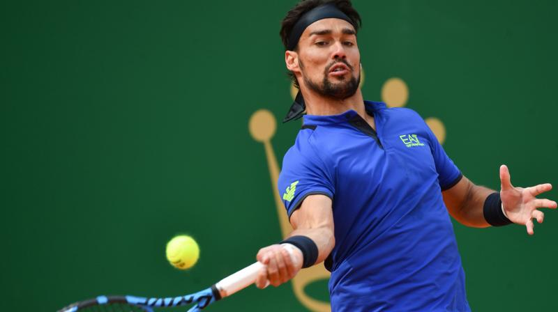 It was world number 18 Fognini's fourth career win against Nadal in 15 encounters and his third on tennis' slowest surface. (Photo: AFP)