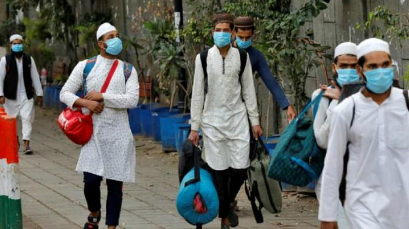 MEA says 1,095 look out circulars have been deleted and 630 foreign members of the Tablighi Jamaat have left India. (PTI Photo)