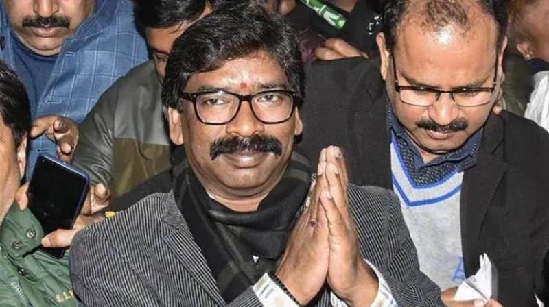 Hemant Soren writes to Pokhriyal, seeks postponement of NEET, JEE exams. (PTI Photo)
