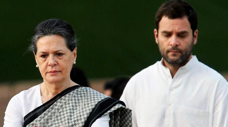 Shiv Sena alleged that the letter written by 23 senior Congress leaders to Sonia Gandhi was a conspiracy to finish off Rahul Gandhi's leadership. (PTI Photo)