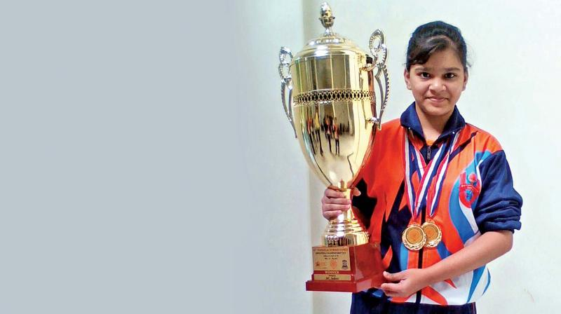 After Winning gold at the kss memorial shooting on monday, Pune shooter Nupur Patil has all eyes on the world-cup next year.