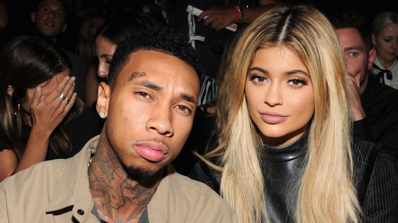 Kylie Jenner and Tyga.