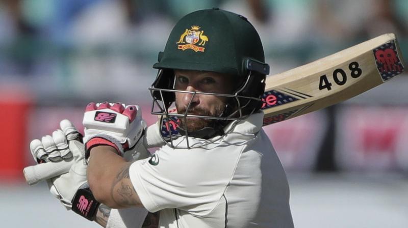 Aussie batsman Matthew Wade. AP Photo