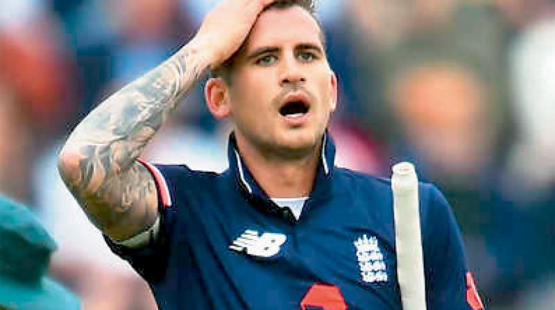 England batsman Alex Hales. DC File Photo