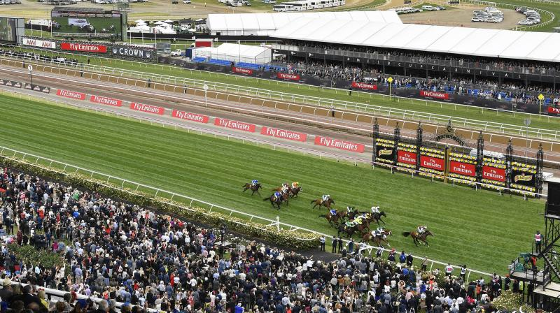 Flemington Racecourse in Melbourne. AP Photo