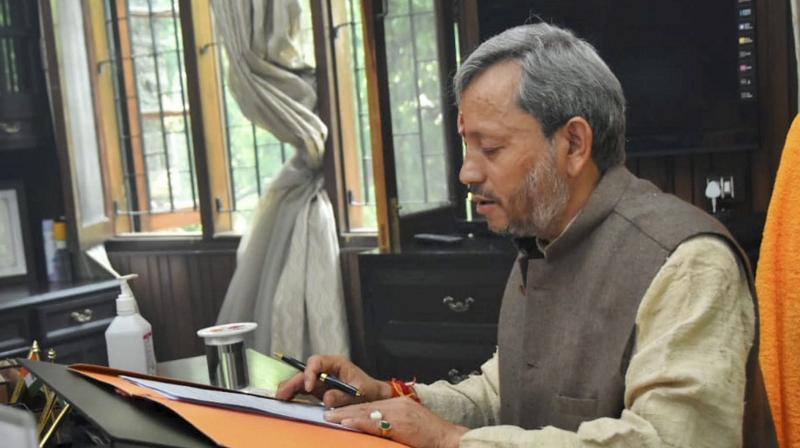 Tirath Singh Rawat. (Photo:PTI)