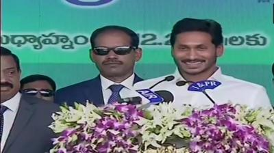 After waiting for 10 yrs, Jagan Mohan Reddy takes oath as Andhra CM