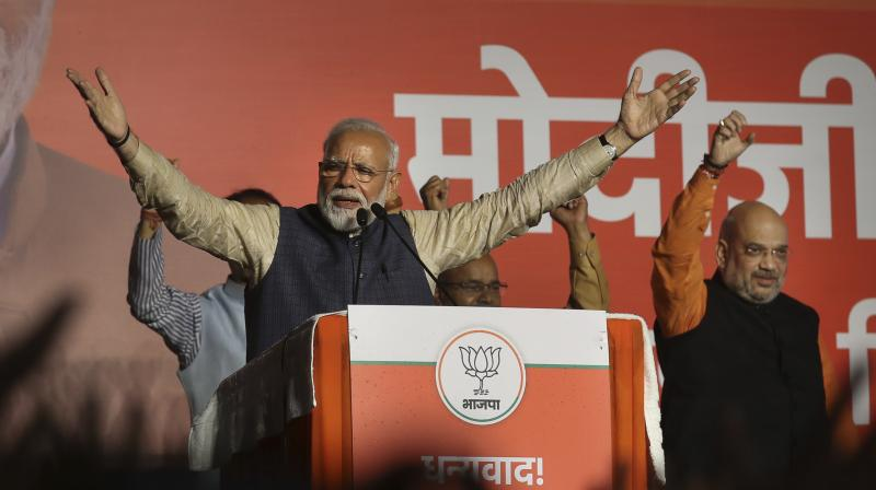 Shah, the architect of BJP's victory of 303 seats in the Lok Sabha, is believed to be among those who will join the Modi cabinet and is tipped to get either Home or Finance, sources said. (Photo: PTI)