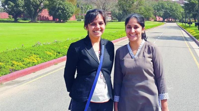 Janhavi Joshi and Nupura Kirloskar