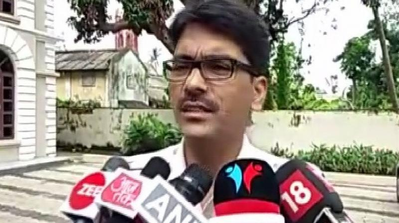 Speaking to media DCP Cuttak, Akhileshwar Singh said, 'We have detained a suspect in the triple murder case here and further investigation is underway.' (Photo: ANI)