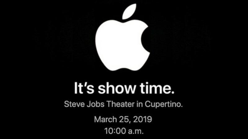 "The event ""It's show time"" will be held at the Steve Jobs Theater at the Apple Park campus and will begin at 10am Pacific time"