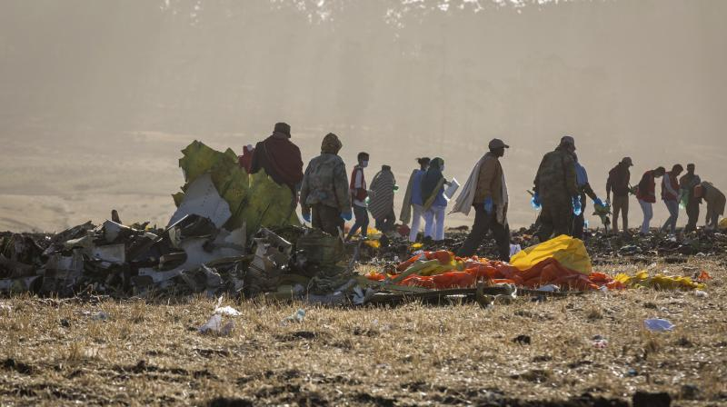 The crashed killed everyone on board. (Photo:AP)