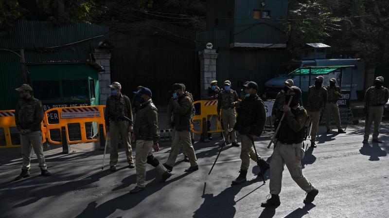 The police sources said that Fida Hussain Yatoo, district general secretary of the J&K unit of BJP Yuva Morcha, and his associates Umar Ramzan Hajam and Umer Rashid Beigh were targeted by gunmen in Kulgam's Yaripora village. (Representtaional Image from Jammu: AFP)