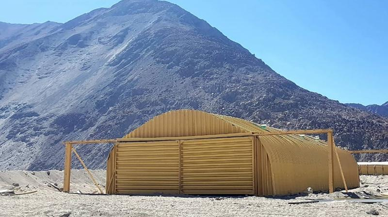 Army sets up upgraded living facilities for troops in eastern Ladakh. (PTI)