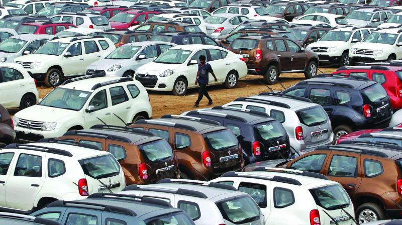 In a bid to prevent vehicle thefts or misuse of stolen vehicles, the Central government has directed auto makers to affix laser-oriented microdots in their vehicles and parts, which can be read only by microscopes under ultraviolet light sources.