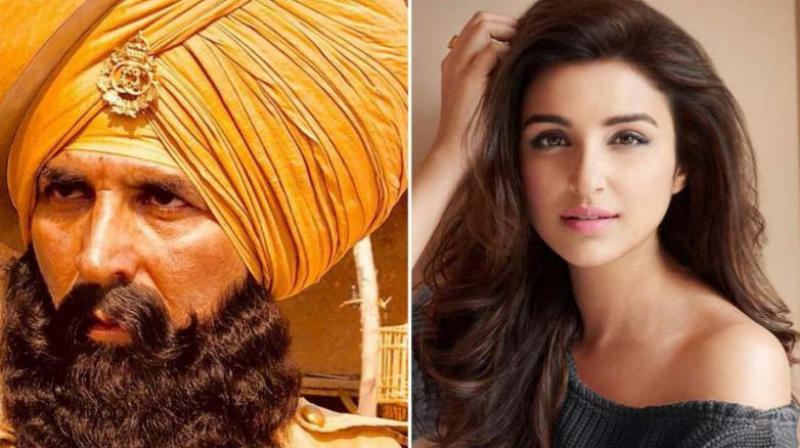 The film's producer Karan Johar was trolled when he had shared Akshay Kumar's look to announce Parineeti Chopra's name.