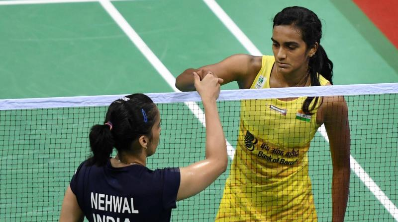 London Olympics bronze-medallist Saina, seeded eighth, will start her campaign against Scotland's Kristy Gilmour. (Photo: PTI)