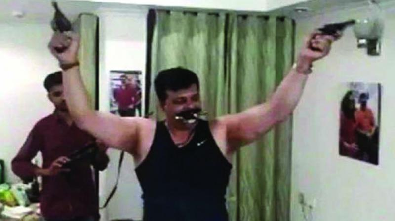 Senior Superintendent of Police (SSP) Haridwar has been ordered to check violation of rules in the issuance of weapon licenses to suspended BJP MLA Pranav Singh Champion and his family. (Photo: File)